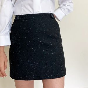 Outback Red terrazzo pattern mini skirt